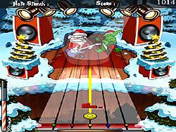 Santa Rockstar 1 Metal Xmas