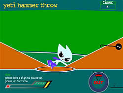 Yeti Hammer Throw