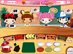 Busy Sushi Bar