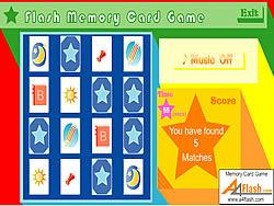 Flash Memory Card Game