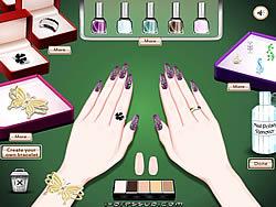 Manicure And Bracelet Design