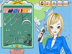 Weather Girl Make Up Game