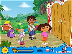 Treasure Hunt - Dora