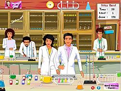 Chemistry Lab Kissing