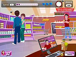 Supermarket Kissing
