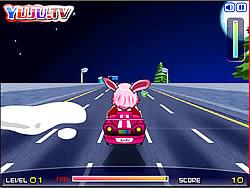 Yuju Pink Car