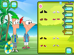 Phineas And Ferb Dress Up