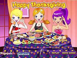 Decorate Thanksgiving Dinner