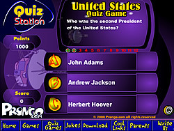 United States Quiz Game