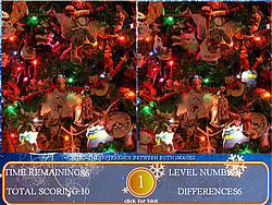Spot The Difference Christmas Edition