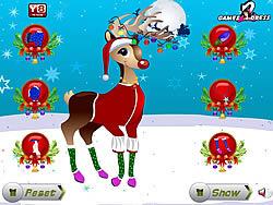 Christmas Reindeer Dress Up