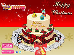 Yummy Christmas Cake Decor