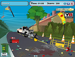 Road Accident Cleaning