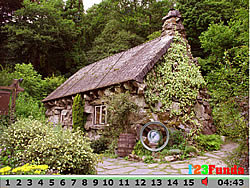 Hidden Numbers Rock House