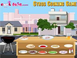 Delicious Gyros Cooking