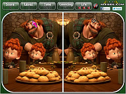 Brave - Spot the Difference