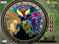 Ben10 Hidden Numbers