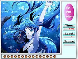 Alone Mermaid Hidden Numbers