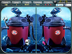 Wall E - Spot the Difference