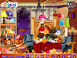 Babi Halloween Hidden Game