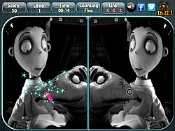 Frankenweenie - Spot the Difference