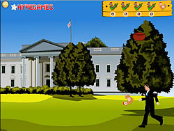 Obama Romney Chicken Kick