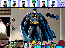 Batman Bedroom Hidden Object