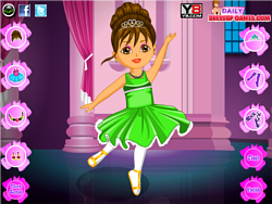 Dora Ballet Dress Up Game