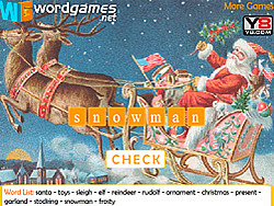 Christmas Word Scramble