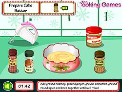 Cooking Christmas Cake