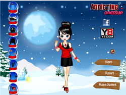 Fashion Winter Dress Up'