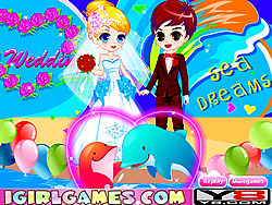 Romantic Dolphin Bay Wedding