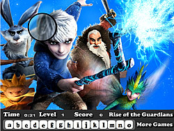 Rise of the Guardians Hidden Letter