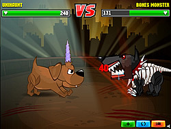 fighting dog games
