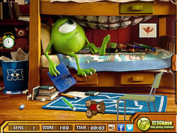 Monsters University Hidden Objects