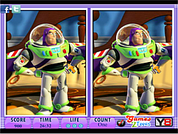 10 Differences - Toy Story