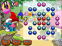 Smurf Shoot with Balls