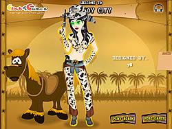 Voguish Cowgirl Dress-Up
