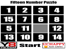 Fifteen Number Puzzle