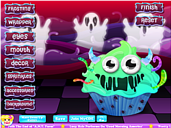 Monster Cupcake Decoration