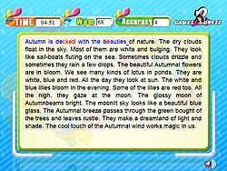Typing Expert Autumn