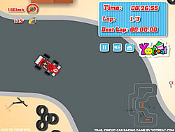 Trail Circuit Car Racing