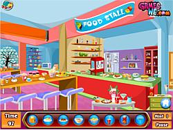 Kids shopping hidden game