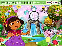 Cute Dora Hidden Numbers