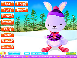 Winter Rabbit Dressup