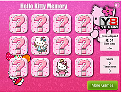 Hello Kitty Memory Free Game