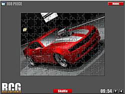 Chevrolet Car Jigsaw