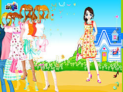 Blue House Spring Dressup
