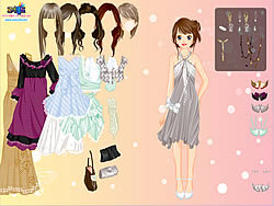 Chique Gown Dress Up