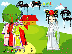 Chinese Princess Dressup